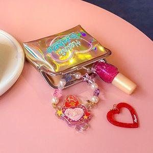Handbags - Gold iridescent heartbreaker coin purse 👛 💔